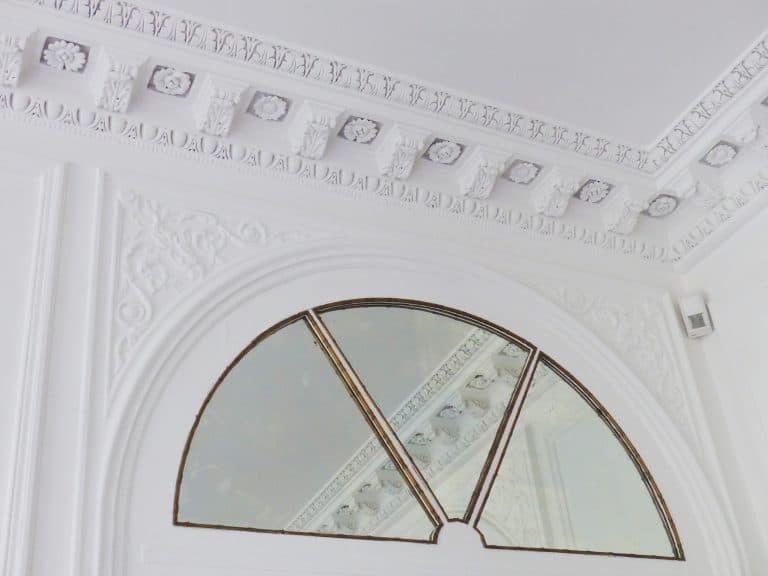 peindre au pistolet plafond et repeindre les faux plafonds